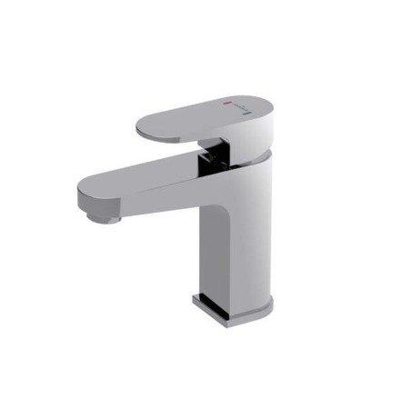 Bateria umywalkowa sztorcowa vigo 1 uchwytowa chrom, korek klik-klak autom S951-049 Cersanit