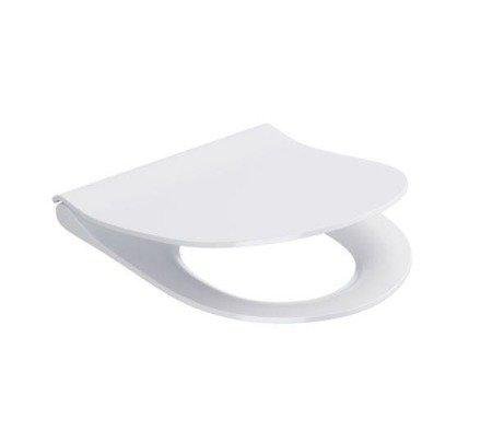Deska City Oval slim duroplastowa, wolnoopadająca K98-0146 Cersanit